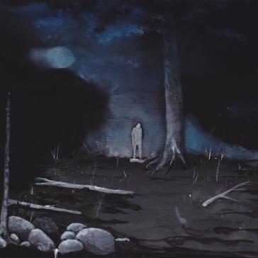 Tentative - Acrylique sur bois - 15 x 20 cm - 2016
