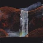 Tentative - acrylique sur bois - 14 x 14 cm - 2012