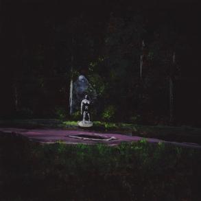 Tentative - acrylique sur bois - 10 x 10 cm - 2018
